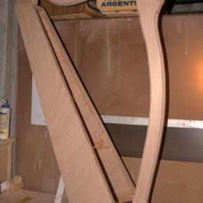 Costruire un'arpa celtica