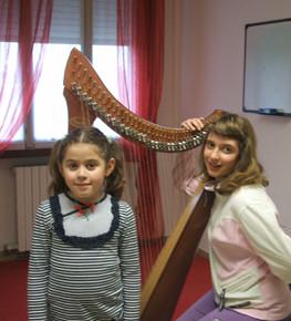 Scuole  d'arpa nell'Accademia Ensemble e negli Istituti Musicali di Lonigo e Thiene