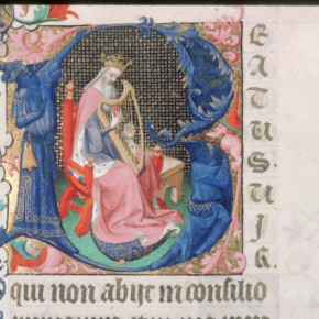 Il simbolismo dell'arpa nelle immagini dal Medio Evo al Seicento