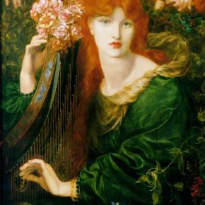 La musica silenziosa della Ghirlandata di Rossetti