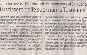 Elena Zaniboni ricorda Claudio Abbado