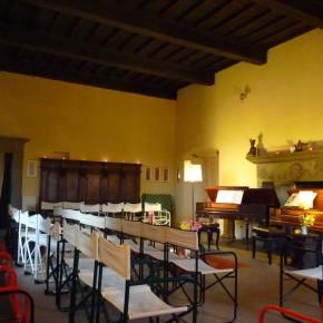 Le istituzioni che collaborano con il concorso Suoni D'Arpa: La Fondazione Internazionale Omraam Villa di Vico onlus