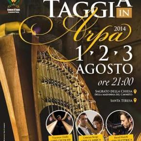 """""""Taggia in Arpa"""" partner del Concorso Internazionale """"Suoni d'Arpa"""""""