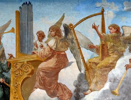 Angeli-musicanti-opera-di-Vincenzo-Galloppi