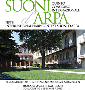 "5th International Harp Contest ""Suoni d'Arpa"" 2015"