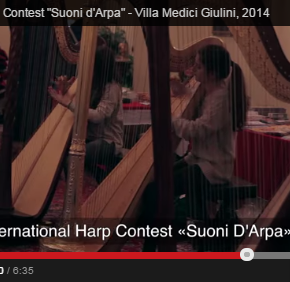 "International Harp Contest ""Suoni d'Arpa"": Video"