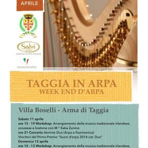 """""""Taggia In Arpa"""" week end con l'arpa 11 e 12 aprile"""