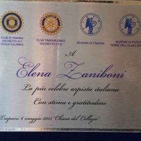 Prestigioso riconoscimento conferito a Elena Zaniboni