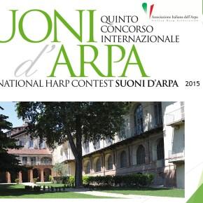 """Ecco i partecipanti al Concorso Internazionale """"Suoni D'Arpa"""" 2015"""