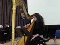 Nuovo corso di arpa a pedali alla Scuola Civica Claudio Abbado di Milano