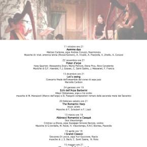 Rassegna 2015/16  Concerti d'arpa Teatro La scala della vita