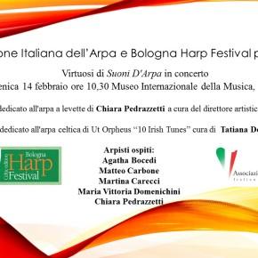 Programma Virtuosi Celtica al Bologna Harp Festival
