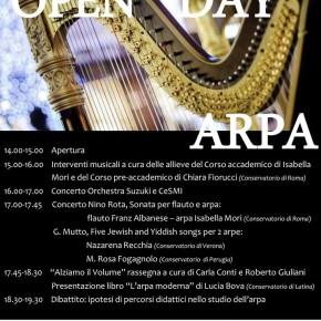 L'Arpa al Conservatorio di Santa Cecilia