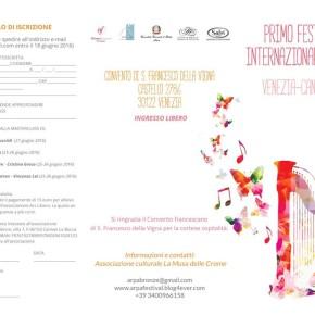 Festival Internazionale a Venezia – Convento di S.Francesco della Vigna