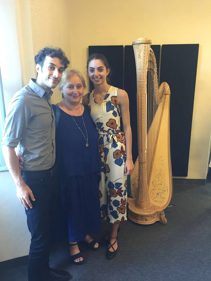 Fabio Rizza, Emanuela Degli Esposti (Artistic Director), Agatha Bocedi