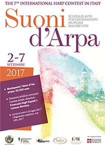 "The 7th International Harp Contest in Italy ""Suoni d'Arpa"""