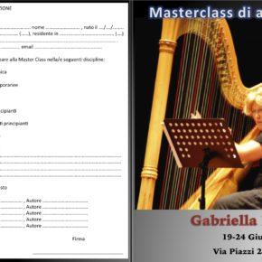 Master Class di Gabriella Bosio