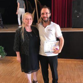 E' italiano il vincitore del concerto premio francese al Festival Suoni D'Arpa 2017