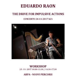 Eduardo Raon: nuovi percorsi dell'arpa