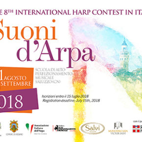 The 8th International Harp Contest in Italy 2018