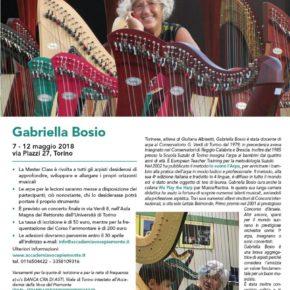 Masterclass di Gabriella Bosio