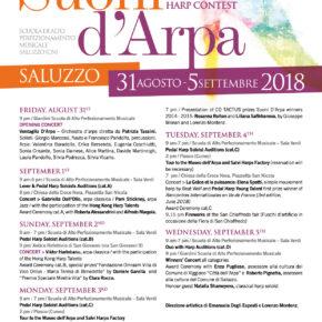 SUONI D'ARPA 2018: International Harp Contest e Festival