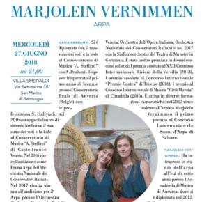 Concerto Premio Suoni D'Arpa a Villa Smeraldi