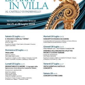 Festival Le Arpe in VILLA