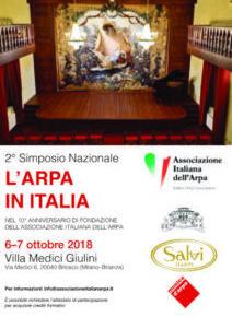 Secondo Simposio Nazionale l'Arpa in Italia