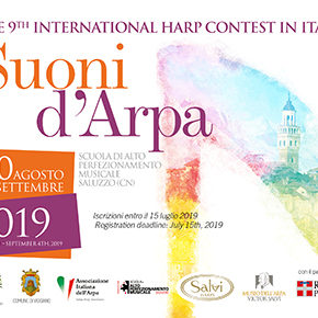 "The 9th International Harp Contest in Italy 2019 ""Suoni d'Arpa"""
