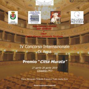 """Festival e Concorso Internazionale di Musica """"Città Murata"""""""