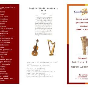 Master Class di Patrizia Pinto a Firenze