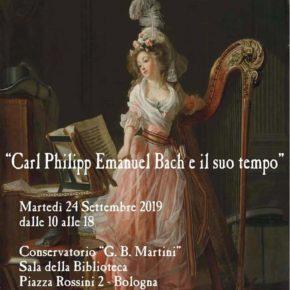 Convegno a Bologna su C.P.E.Bach e il suo tempo