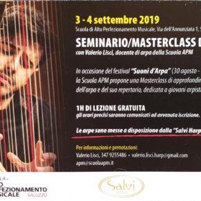 Seminario di Valerio Lisci a Saluzzo