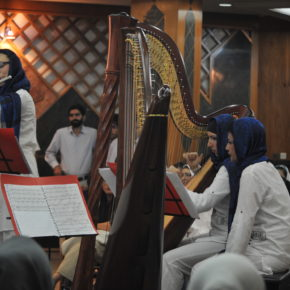 La rinascita dell'arpa in Iran