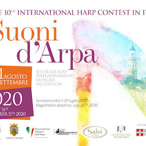 "The 10th International Harp Contest in Italy 2020 ""Suoni d'Arpa"""