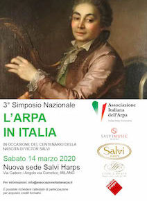 Terzo Simposio Nazionale L'Arpa in Italia [POSTPONED/RINVIATO]